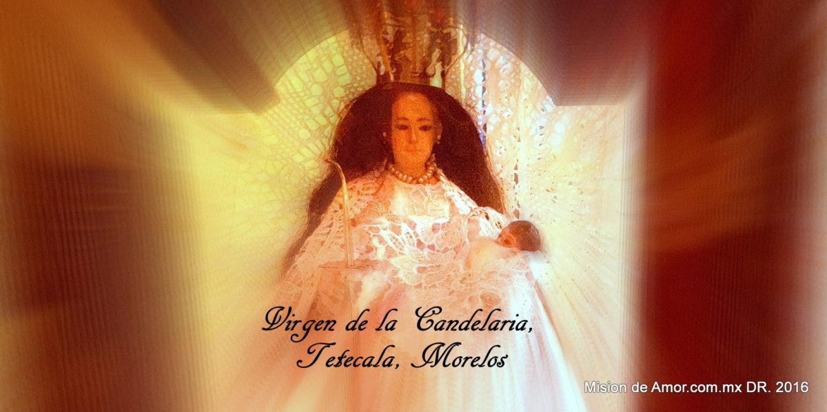Oración desde el embarazo a la Santísima Virgen de la Candelaria